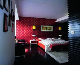 沉稳时尚大气新古典个性卧室装潢