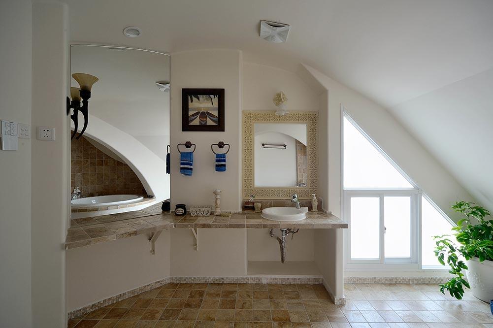 白色清新欧式风格卫生间装修
