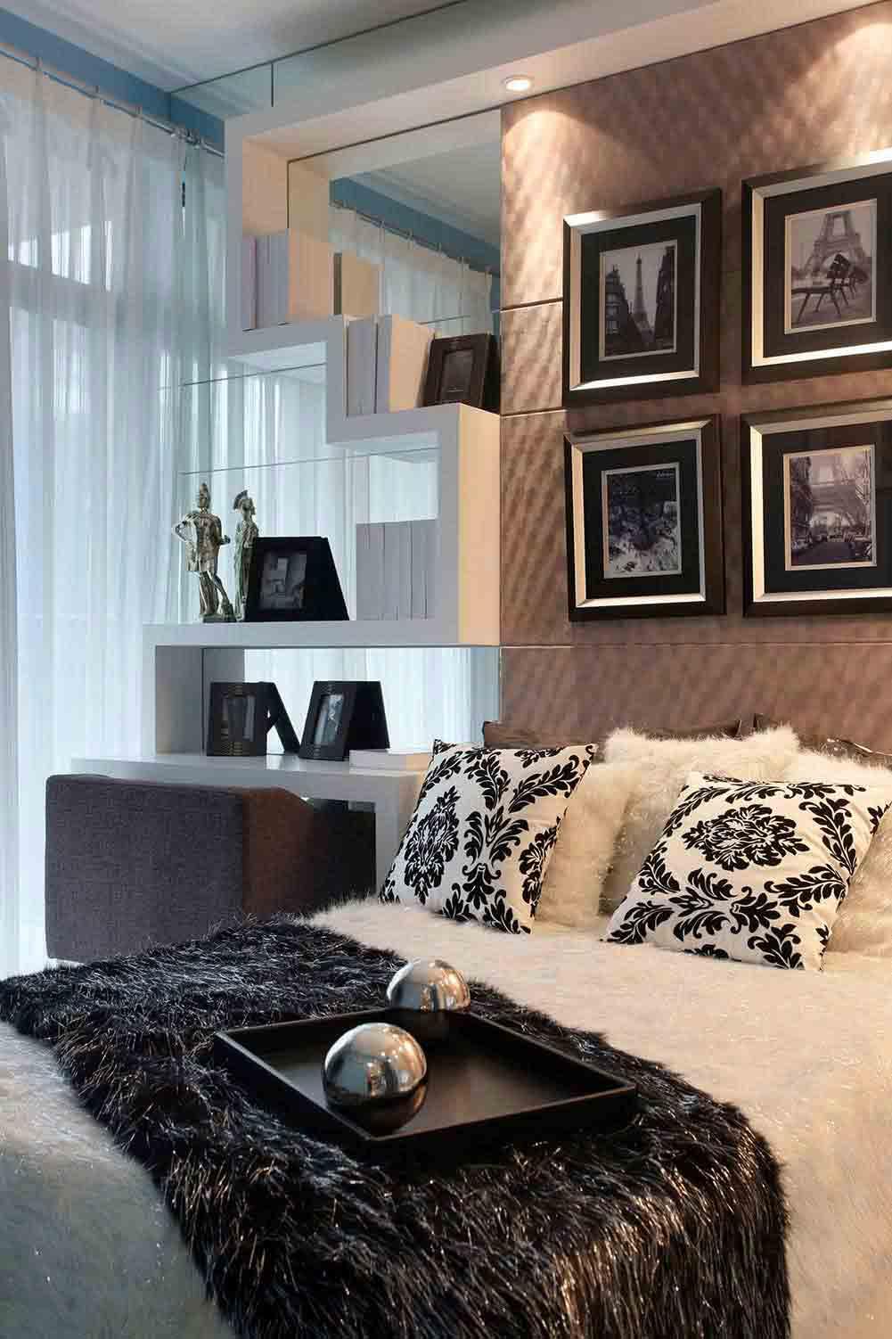 雅致精美时尚欧式卧室装潢装修