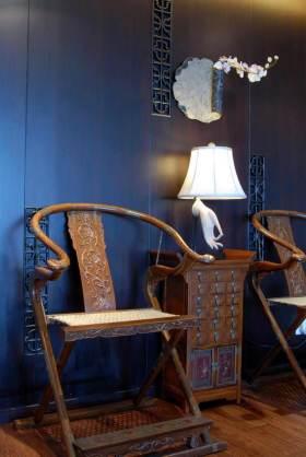 个性浪漫新中式风格休闲椅设计