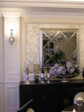 精致华丽温馨欧式风格餐边柜设计