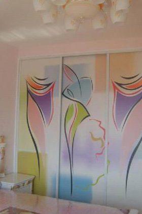 简约艺术感时尚现代风格衣柜设计