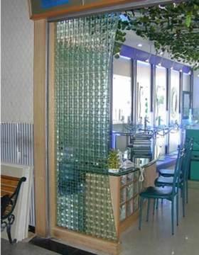 精美时尚清爽现代风格玻璃隔断设计