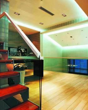 摩登时尚现代风格楼梯间装潢