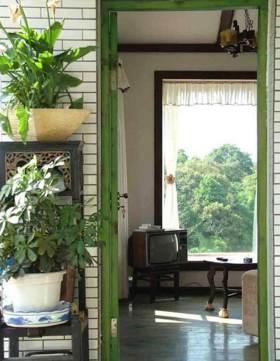 自然清新美式田园风格绿植设计