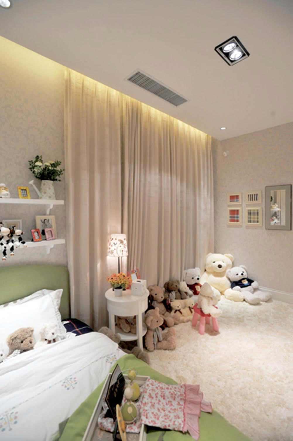 可爱温馨简约风格卧室装潢布置