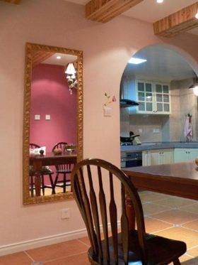 粉嫩温馨欧式墙面装修设计