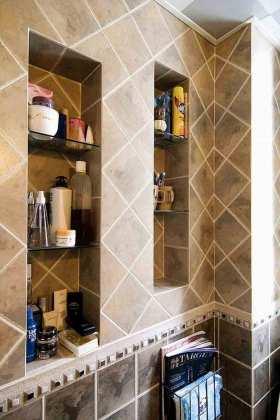 现代风格实用卫生间浴室柜设计