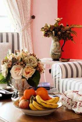 浪漫唯美欧式风格客厅装饰细节展示