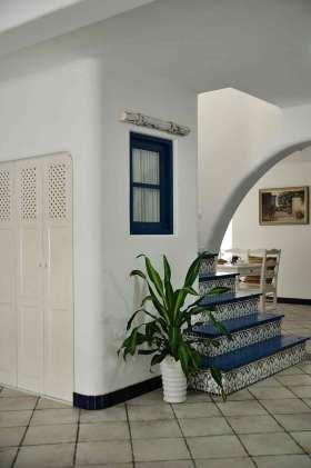 清爽地中海风格楼梯设计展示