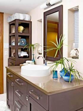 亚热带风格创意东南亚风格卫生间装修