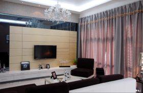 现代温馨时尚浪漫客厅设计