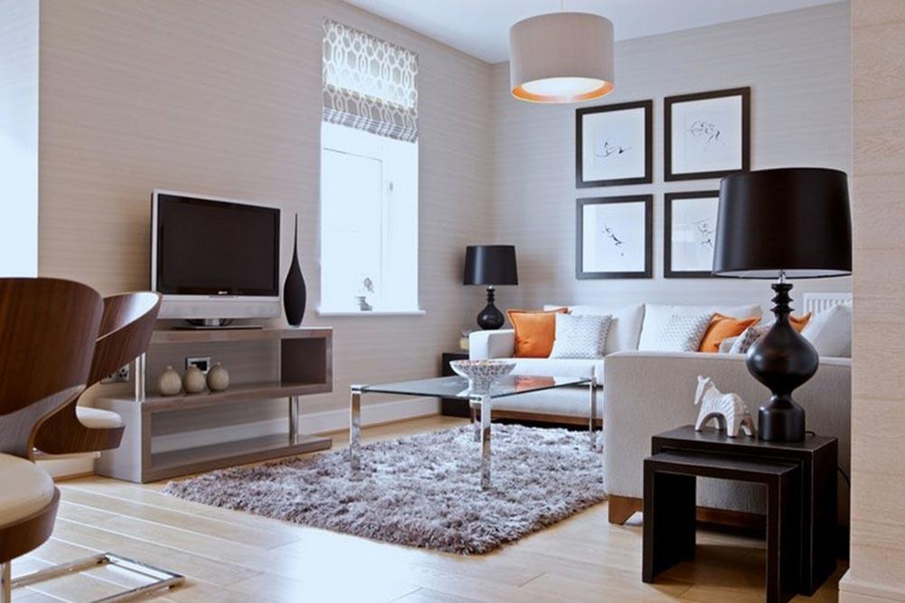 明亮简约风格小户型客厅装修设计