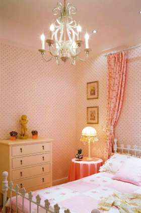简欧温馨舒适卧室装修案例
