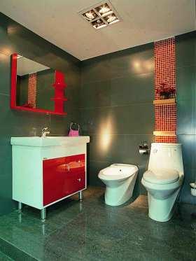 现代时尚卫生间装修设计