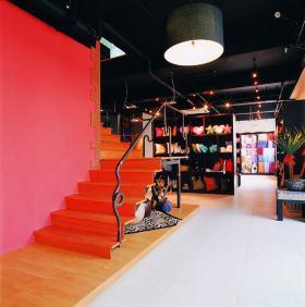 现代时尚工业风楼梯设计