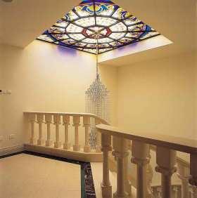 简欧时尚楼梯装修案例欣赏