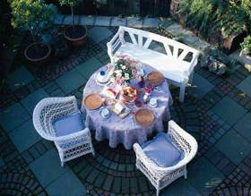 欧式花园休闲区设计欣赏