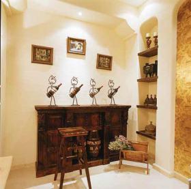简约美式酒柜设计欣赏