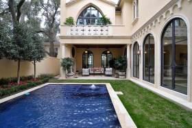 2016清新舒适欧式别墅游泳池设计