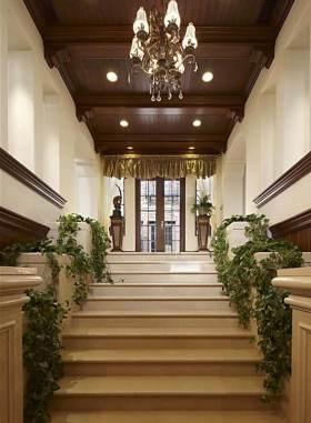 简欧休闲自然楼梯设计
