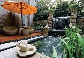 现代时尚雅致花园设计欣赏