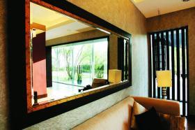 东南亚时尚背景墙设计