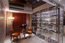 精美时尚轻盈现代风格酒柜设计装修