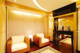 清爽东南亚风格休闲区域设计装修