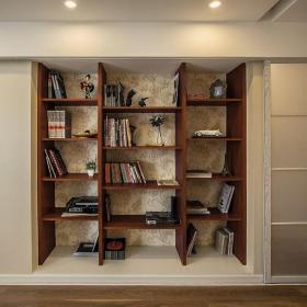 田园书房装修效果图