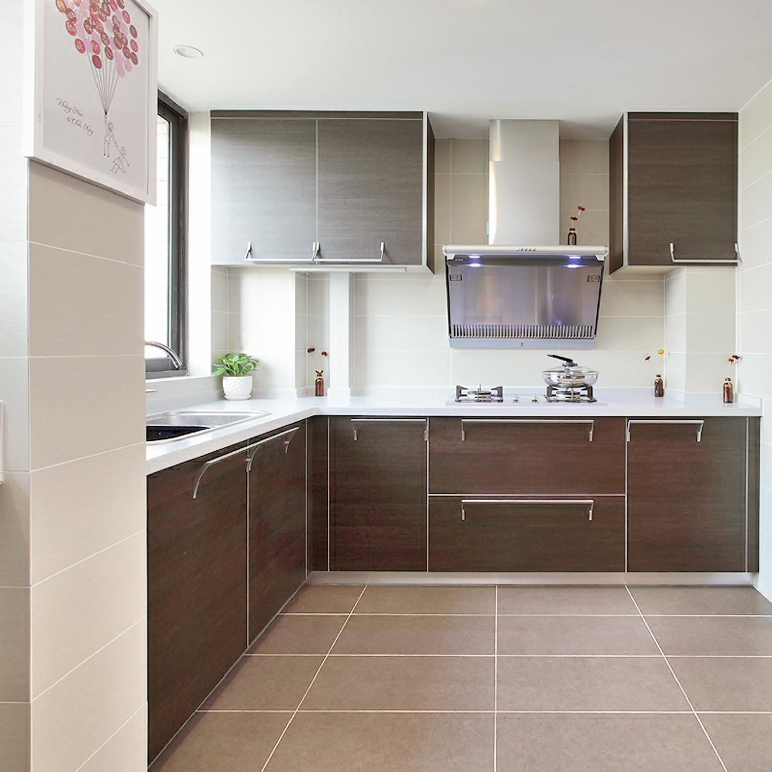 装修美图 田园厨房装修效果图  免费户型设计 3家优质装修公司免费帮图片