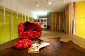 2015现代书房阅读区设计