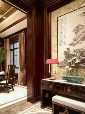 中式背景墙装修效果展示