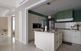 岛台厨房欧式设计