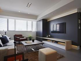 2015年简约客厅装修设计