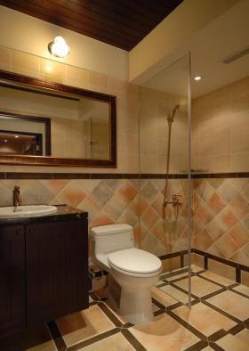 中式卫生间设计展示