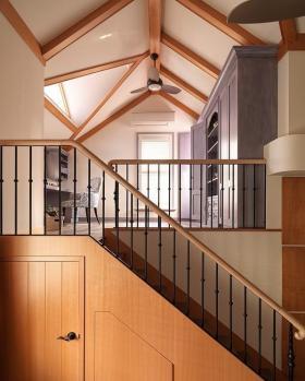 2015田园风楼梯效果图