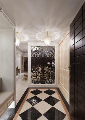 新古典玄关设计展示图
