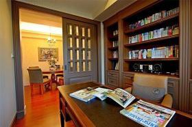 美式乡村书房装修欣赏