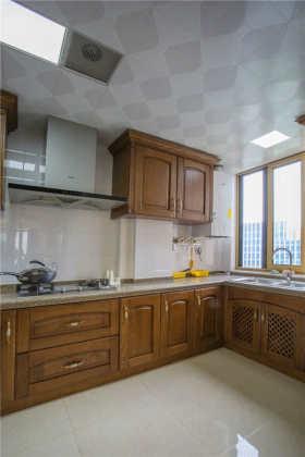中式质朴厨房设计欣赏