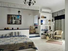 地中海温馨卧室案例欣赏