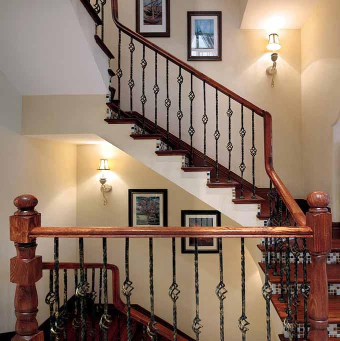 2015欧式楼梯装潢设计