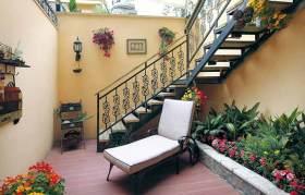 欧式悠闲舒适花园设计