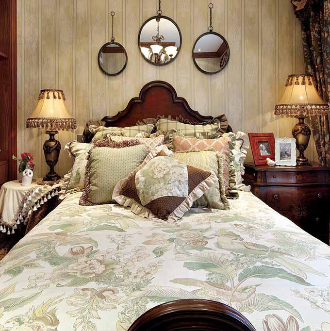 欧式田园卧室装修欣赏