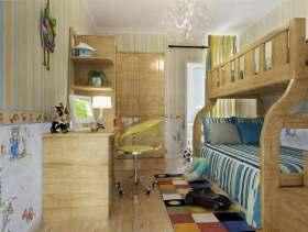 欧式儿童房装修案例欣赏