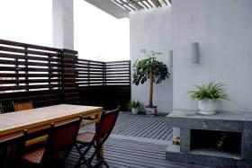 2015中式休闲阳台设计