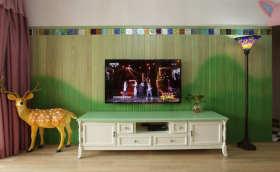 童话混搭风格电视背景墙设计