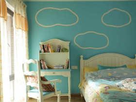 清新可爱欧式儿童房装修案例