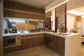 中式厨房开放式设计欣赏