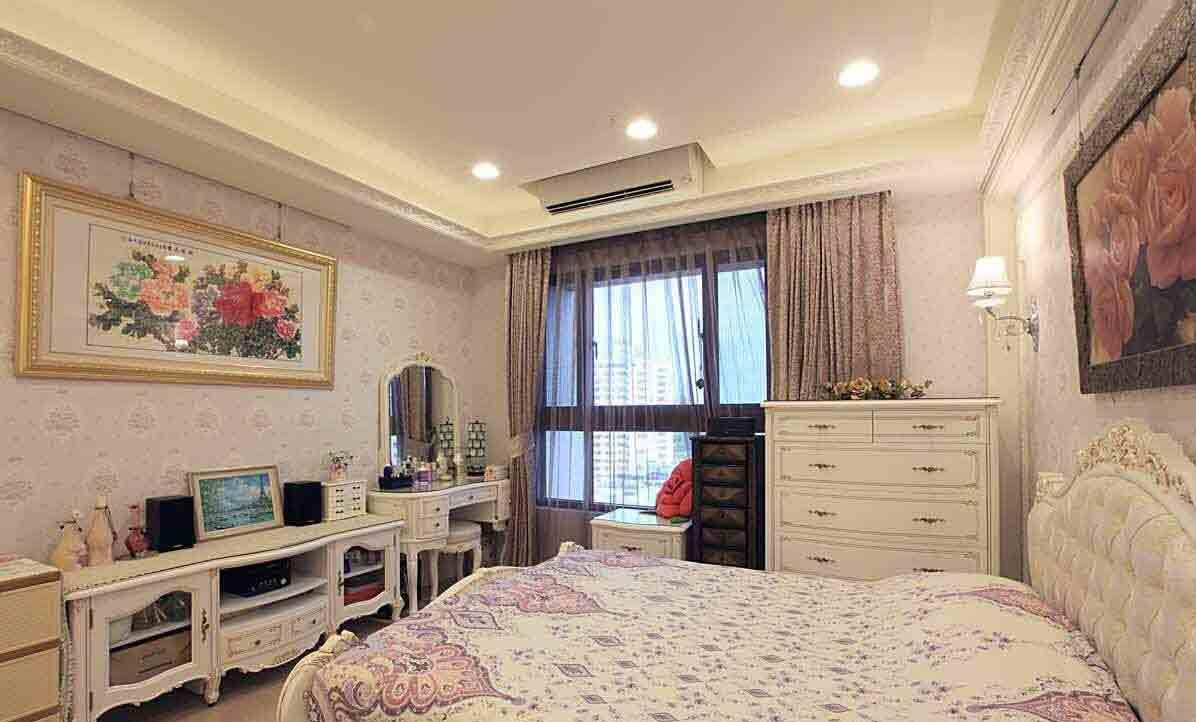 欧式卧室精致装潢设计